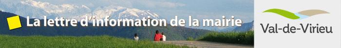 Lettre d'information de la mairie de Virieu